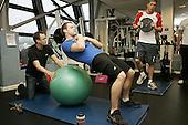 Liam Tancock interview. Gym shots. 15-3-11