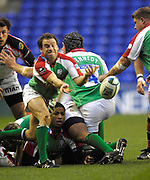 Reading, GREAT BRITAIN,  Scrum half, during the third round Heineken Cup game, London Irish vs Ulster Rugby, at the Madejski Stadium, Reading ENGLAND, Sa, t 09.12.2006. [Photo Peter Spurrier/Intersport Images]..