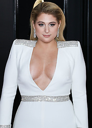 LOS ANGELES, CA, USA - FEBRUARY 10: 61st Annual GRAMMY Awards held at Staples Center on February 10, 2019 in Los Angeles, California, United States. 10 Feb 2019 Pictured: Meghan Trainor. Photo credit: Xavier Collin/Image Press Agency / MEGA TheMegaAgency.com +1 888 505 6342