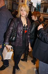 PEACHES GELDOF at the opening of the new Diesel shop at 130 New Bond Street, London W1 on 18th May 2006.<br /><br />NON EXCLUSIVE - WORLD RIGHTS