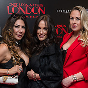 Arrivers at Once Upon a Time in London - London premiere of the rise and fall of a nationwide criminal empire that paved the way for notorious London gangsters the Kray Twins and the Richardsons at The Troxy 490 Commercial Road, on 15 April 2019, London, UK.