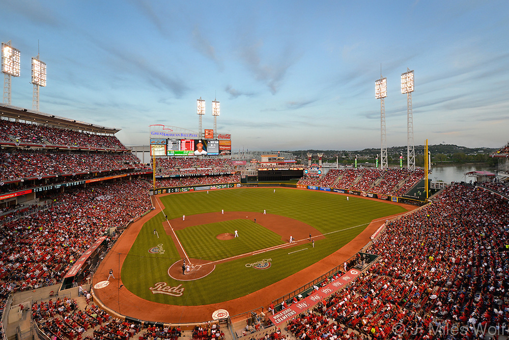 Great American Ball Park, Cincinnati Ohio Reds Stadium