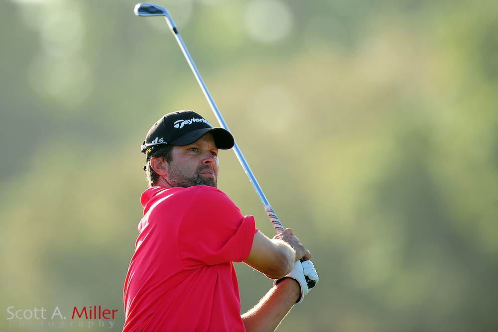 Robert Damron during the first round of the Arnold Plamer Invitational at the Bay Hill Club and Lodge on March 22, 2012 in Orlando, Fla. ..©2012 Scott A. Miller.
