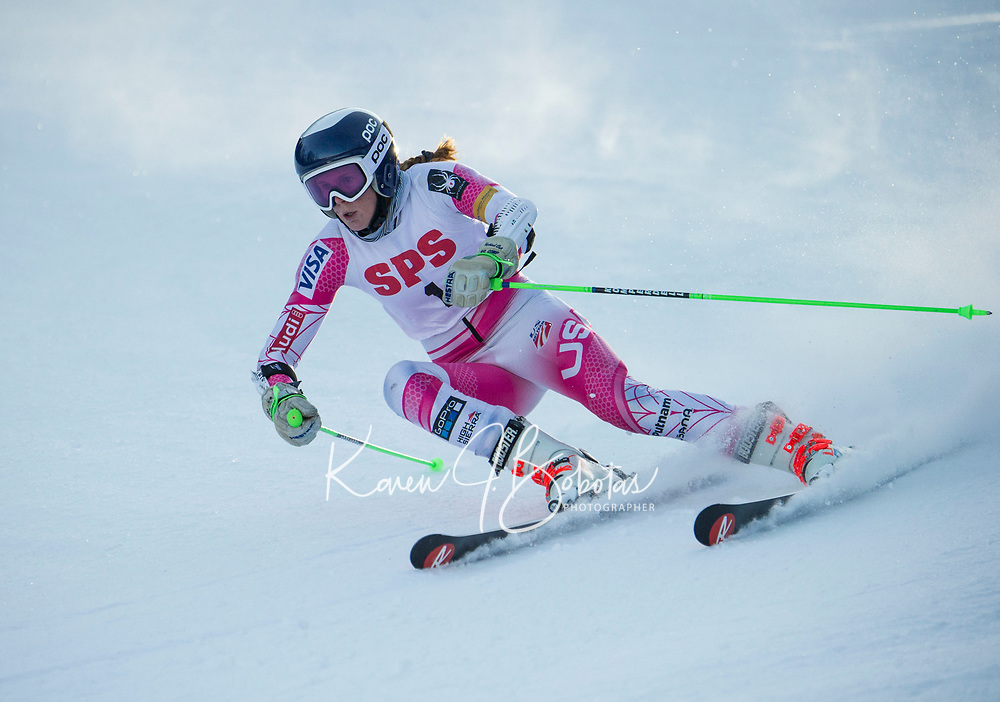 St Paul's School Giant Slalom race at Gunstock.  ©2020 Karen Bobotas Photographer
