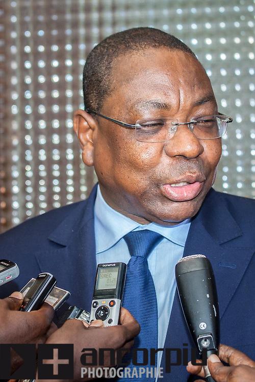 Mankeur Ndiaye, Ministre Affaires Etrangéres et des Sénégalais de l'Extérieur / The Minister for Foreign Affairs / Ministro de Asuntos Exteriores de Senegal.