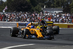 July 8, 2018 - Silverstone, Great Britain - Motorsports: FIA Formula One World Championship 2018, Grand Prix of Great Britain, .#14 Fernando Alonso (ESP, McLaren F1 Team) (Credit Image: © Hoch Zwei via ZUMA Wire)