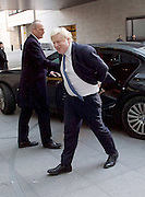 Andrew Marr Show arrivals at Broadcasting House, BBC, London, Great Britain <br /> 4th December 2016 <br /> <br /> <br /> <br /> <br /> Boris Johnson <br /> Foreign Secretary <br /> <br /> Photograph by Elliott Franks <br /> Image licensed to Elliott Franks Photography Services