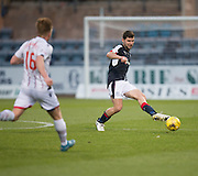 Dundee&rsquo;s Kostadin Gadzhalov - Dundee v Ross County in the Ladbrokes Scottish Premiership at Dens Park, Dundee. Photo: David Young<br /> <br />  - &copy; David Young - www.davidyoungphoto.co.uk - email: davidyoungphoto@gmail.com
