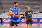 DESCRIZIONE: Torino FIBA Olympic Qualifying Tournament Allenamento<br /> GIOCATORE: Marco Stefano Belinelli<br /> CATEGORIA: Nazionale Italiana Italia Maschile Senior Allenamento<br /> GARA: FIBA Olympic Qualifying Tournament Semifinale Allenamento<br /> DATA: 09/07/2016<br /> AUTORE: Agenzia Ciamillo-Castoria