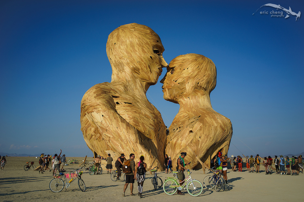 Embrace. Burning Man 2014