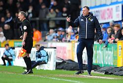 Bristol Rovers manager Graham Coughlan -Mandatory by-line: Nizaam Jones/JMP- 16/03/2019 - FOOTBALL - Memorial Stadium - Bristol, England - Bristol Rovers v Charlton Athletic - Sky Bet League One