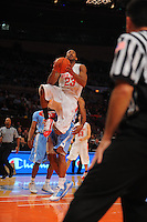 Ohio State guard/forward David Lighty #23 drives to the basket against the North Carolina Tarheels during the 2K Sports Classic at Madison Square Garden. (Mandatory Credit: Delane B. Rouse/Delane Rouse Photography)