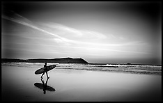 Surfers in Cornwall-2011