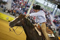 Ernst Elias, (GER), Uss N Dun It<br /> Reining individual<br /> European Championships - Aachen 2015<br /> © Hippo Foto - Dirk Caremans<br /> 16/08/15