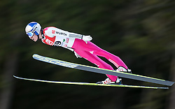 19.12.2014, Nordische Arena, Ramsau, AUT, FIS Nordische Kombination Weltcup, Skisprung, PCR, im Bild Jakob Lange (GER) // during Ski Jumping of FIS Nordic Combined World Cup, at the Nordic Arena in Ramsau, Austria on 2014/12/19. EXPA Pictures © 2014, EXPA/ JFK