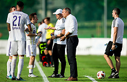 Darko Milanic, head coach of Maribor with players during football match between NK Triglav Kranj and NK Maribor in Round #7 of Prva liga Telekom Slovenije 2018/19, on September 2, 2018 in Kranj, Slovenia. Photo by Vid Ponikvar / Sportida