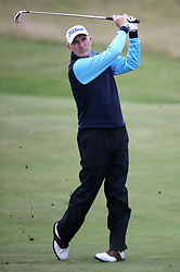 Wales' Philip Price during day three of the Senior Open at Royal Porthcawl Golf Club, Porthcawl.