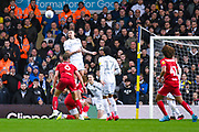 Leeds United midfielder Kalvin Phillips (23) in action during the EFL Sky Bet Championship match between Leeds United and Bristol City at Elland Road, Leeds, England on 15 February 2020.