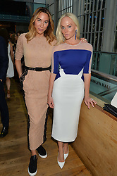 Left to right, ALEXANDRA MEYERS and KATHRINE FREDRIKSEN at The Women for Women International & De Beers Summer Evening held at The Royal Opera House, Covent Garden, London on 23rd June 2014.