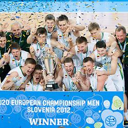 20120722: SLO, Basketball - U20 European Championship, Final, Lithuania vs France
