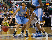2012 ACC Women's Tourney Georgia Tech 54 - North Carolina 53