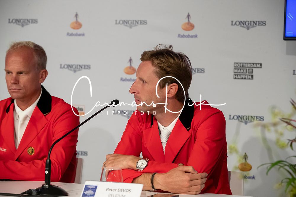 Devos Pieter, BEL<br /> European Championship Jumping<br /> Rotterdam 2019<br /> © Hippo Foto - Dirk Caremans