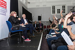 Labour Leader, Jeremy Corbyn visits Edinburgh during the Festival period to discuss the Arts policy of a Corbyn-led Labour Government.