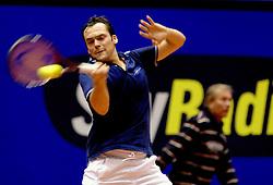 13-12-2006 TENNIS: SKY RADIO TENNIS MASTER: ROTTERDAM<br /> Paul Logtens<br /> ©2006-WWW.FOTOHOOGENDOORN.NL