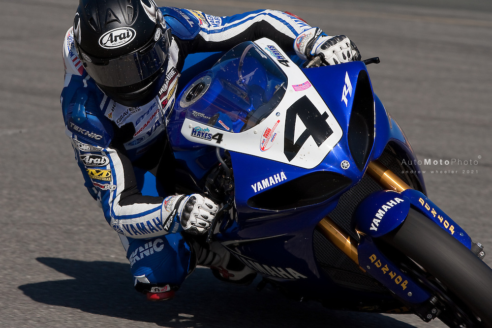 Josh Hayes, AMA Superbike Race One Winner