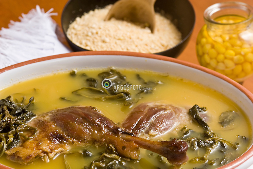 Pato no Tucupi, comida tipica do Para / Pato no tucupi [in English Duck in Tucupi Stew] is a traditional Brazilian dish; it is mostly found in the area around the city of Belem in the Para state.