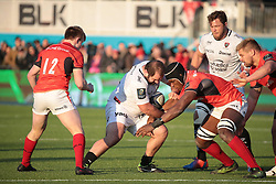 RUGBY - CHAMPIONS CUP - 2017<br /> chilachava (levan) <br /> itoje (maro)