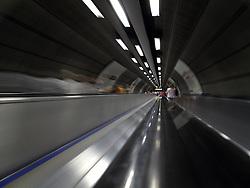 UK ENGLAND LONDON 27JUL13 - Tunnel at Waterloo underground Station, London.<br /> <br /> <br /> <br /> jre/Photo by Jiri Rezac<br /> <br /> <br /> <br /> © Jiri Rezac 2013