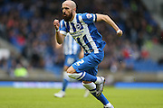 Brighton defender, Bruno Saltor (2) during the Sky Bet Championship match between Brighton and Hove Albion and Huddersfield Town at the American Express Community Stadium, Brighton and Hove, England on 23 January 2016.