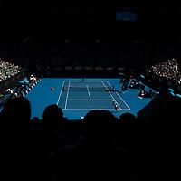 A general view of Rod Laver Arena on day four of the 2018 Australian Open in Melbourne Australia on Thursday January 18, 2018.<br /> (Ben Solomon/Tennis Australia)