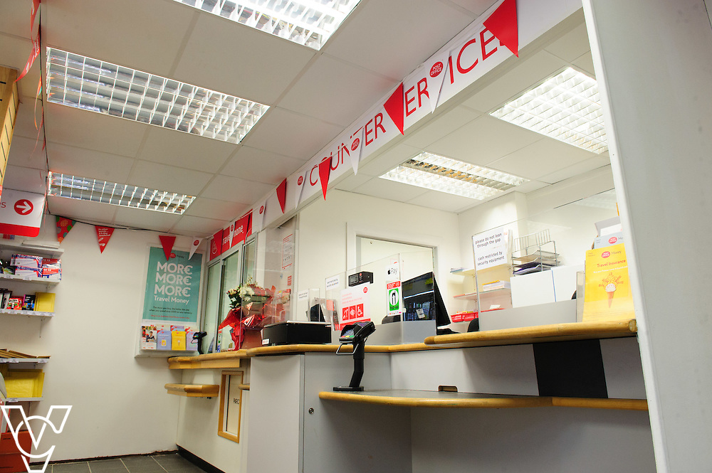 General view of the inside of Melton Mowbray Post Office<br /> <br /> The Mayor of Melton Jeanne Douglas has officially opened the new Post Office in Melton Mowbray.<br /> <br /> Date: March 16, 2016