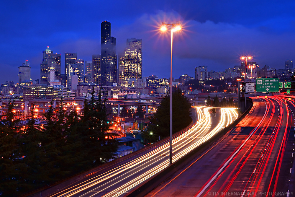 Morning Commute, Downtown Seattle