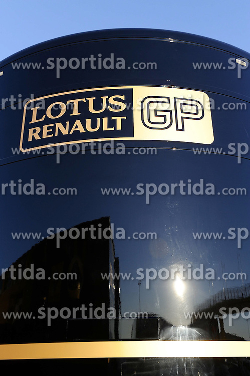 03.02.2011, Street Circuit, Jerez, ESP, Formel 1 Test 1 Valencia 2011,  im Bild  Lotus Renault GP EXPA Pictures © 2011, PhotoCredit: EXPA/ nph/  Dieter Mathis       ****** out of GER / SWE / CRO  / BEL ******