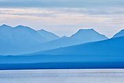 Coast Mountains and Atlin Lake<br />