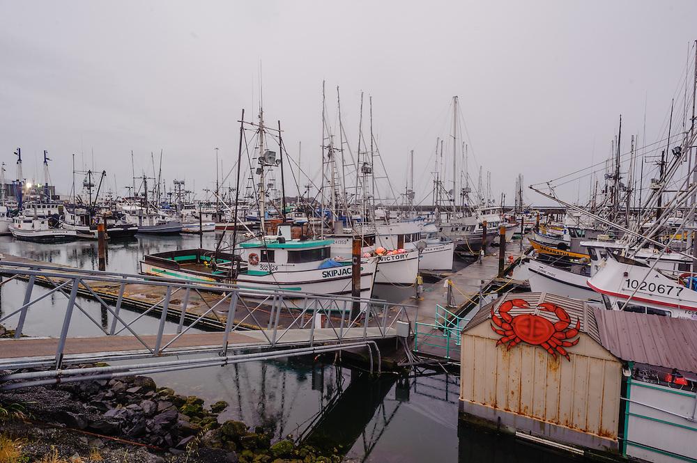 Fishing Boats, Harbor Crescent, California