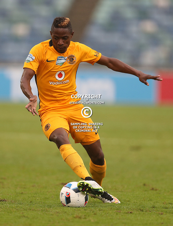 Michelle Katsvairo of Kaizer Chiefs during the Telkom Knockout quarterfinal  match between Kaizer Chiefs and Free State Stars at the Moses Mabhida Stadium , Durban, South Africa.6 November 2016 - (Photo by Steve Haag Kaizer Chiefs)