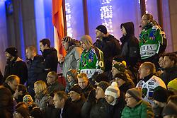 23.12.2014, Hala Tivoli, Ljubljana, SLO, EBEL, HDD Telemach Olimpija Ljubljana vs Dornbirner EC, 30. Runde, in picture Fans during the Erste Bank Icehockey League 30. Round between HDD Telemach Olimpija Ljubljana and Dornbirner Eishockey Club at the Republic Square, Ljubljana, Slovenia on 2014/12/23. Photo by Morgan Kristan / Sportida