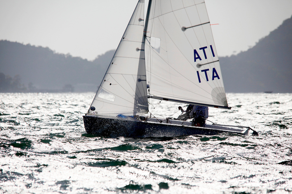 Italy420WomenCrewITAMP195MariaPasquali Coluzzi<br />Italy420WomenHelmITADR22DemiRio<br />Day2, 2015 Youth Sailing World Championships,<br />Langkawi, Malaysia