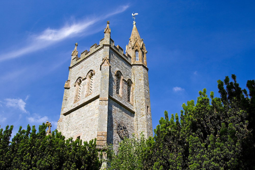 St Thomas Church, Melbury Abbas in Dorset, United Kingdom
