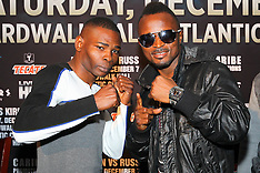 December 4, 2013: Guillermo Rigondeaux vs Joseph Agbeko Final Press Conference