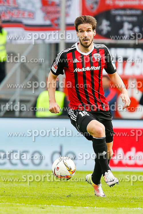 02.04.2016, Audi Sportpark, Ingolstadt, GER, 1. FBL, FC Ingolstadt 04 vs Schalke 04, 28. Runde, im Bild Romain Bregerie (Nr.18, FC Ingolstadt 04) // during the German Bundesliga 28th round match between FC Ingolstadt 04 and Schalke 04 at the Audi Sportpark in Ingolstadt, Germany on 2016/04/02. EXPA Pictures &copy; 2016, PhotoCredit: EXPA/ Eibner-Pressefoto/ Strisch<br /> <br /> *****ATTENTION - OUT of GER*****