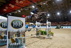Vermeir Wilm, BEL, IQ vh Steentje<br /> Jumping Mechelen 2019<br /> © Hippo Foto - Sharon Vandeput<br /> 30/12/19