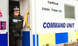 Pictured: Superintendent Lesley Clark<br /> Superintendent Lesley Clark and collagues gathered at  at the police base for the Operation Summer City 2016 campaign, Venue 999<br /> <br /> (c) Ger Harley | Edinburgh Elite media