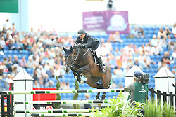 Bonev Ivaylo, (BUL), Abarth<br /> Team Competition round 1 and Individual Competition round 1<br /> FEI European Championships - Aachen 2015<br /> © Hippo Foto - Stefan Lafrentz<br /> 19/08/15