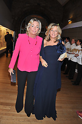 Left to right, COUNTESS NOEMI MARONNE CINZANO and PRINCESS CHANTAL OF HANOVER at the annual Chain of Hope's annual Gala Ball held at the Natural History Museum, London on 8th November 2012.