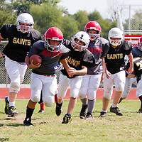 09-27-14 Mighty Mite Black Saints vs. Wild Hogs